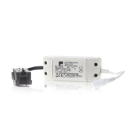 ledscom.de LED fuente de alimentaci/ón ATOM blanca 24V corriente continua 12W