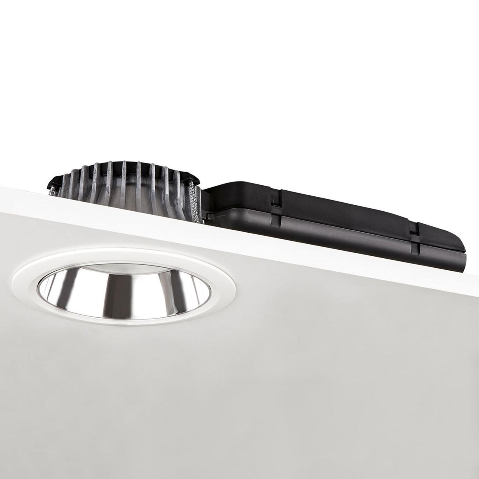 Downlight D70-RF155 DALI argent/blanc 4000K 20W