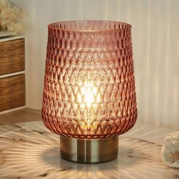 Pauleen Glamour -LED-pöytälamppu, paristo Ø15,5 cm