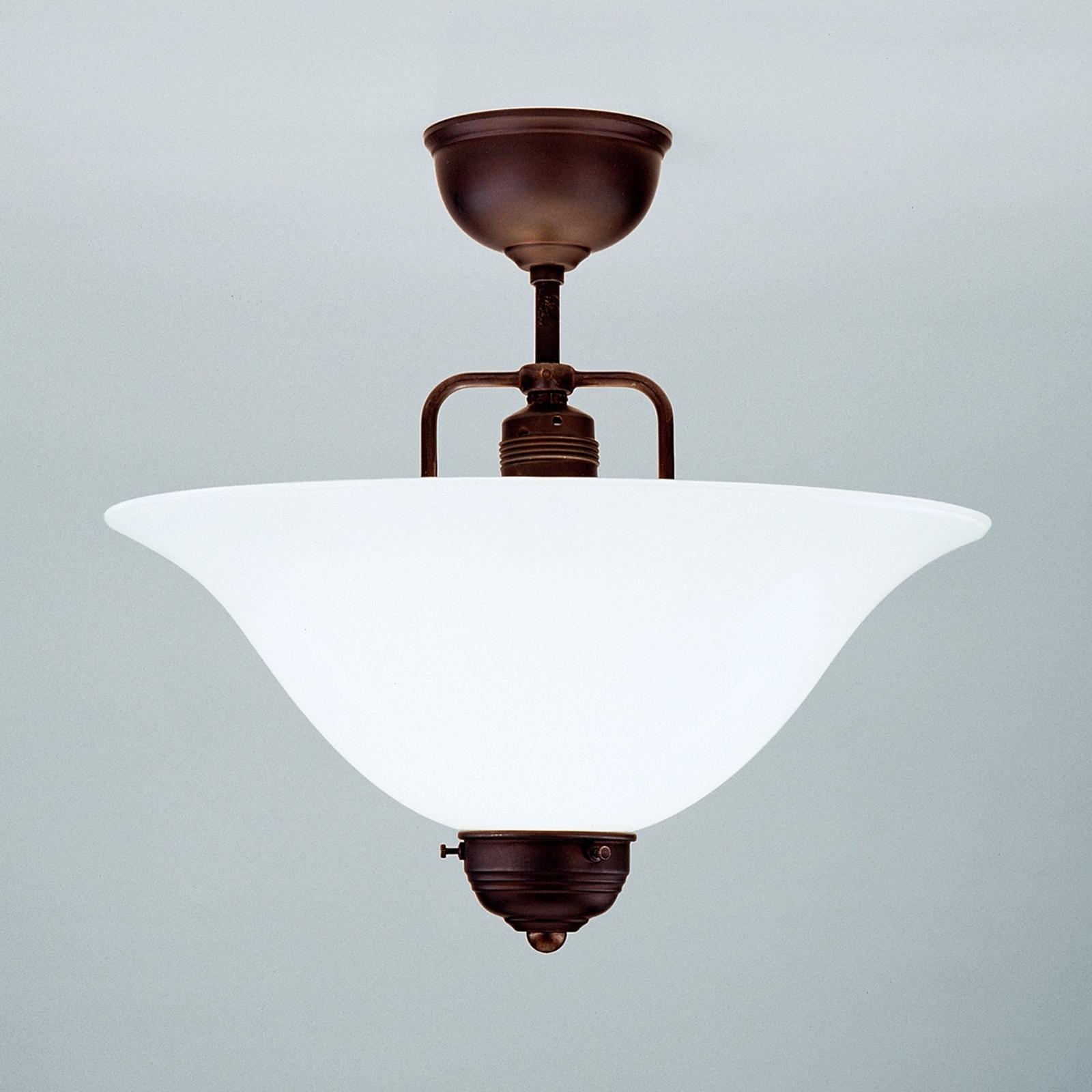 Wykonana ręcznie lampa sufitowa Rosa