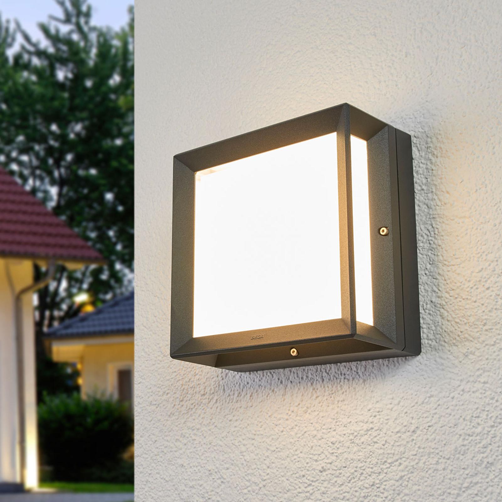 BEGA 22650K3 LED-Außenwandleuchte grafit 3.000K