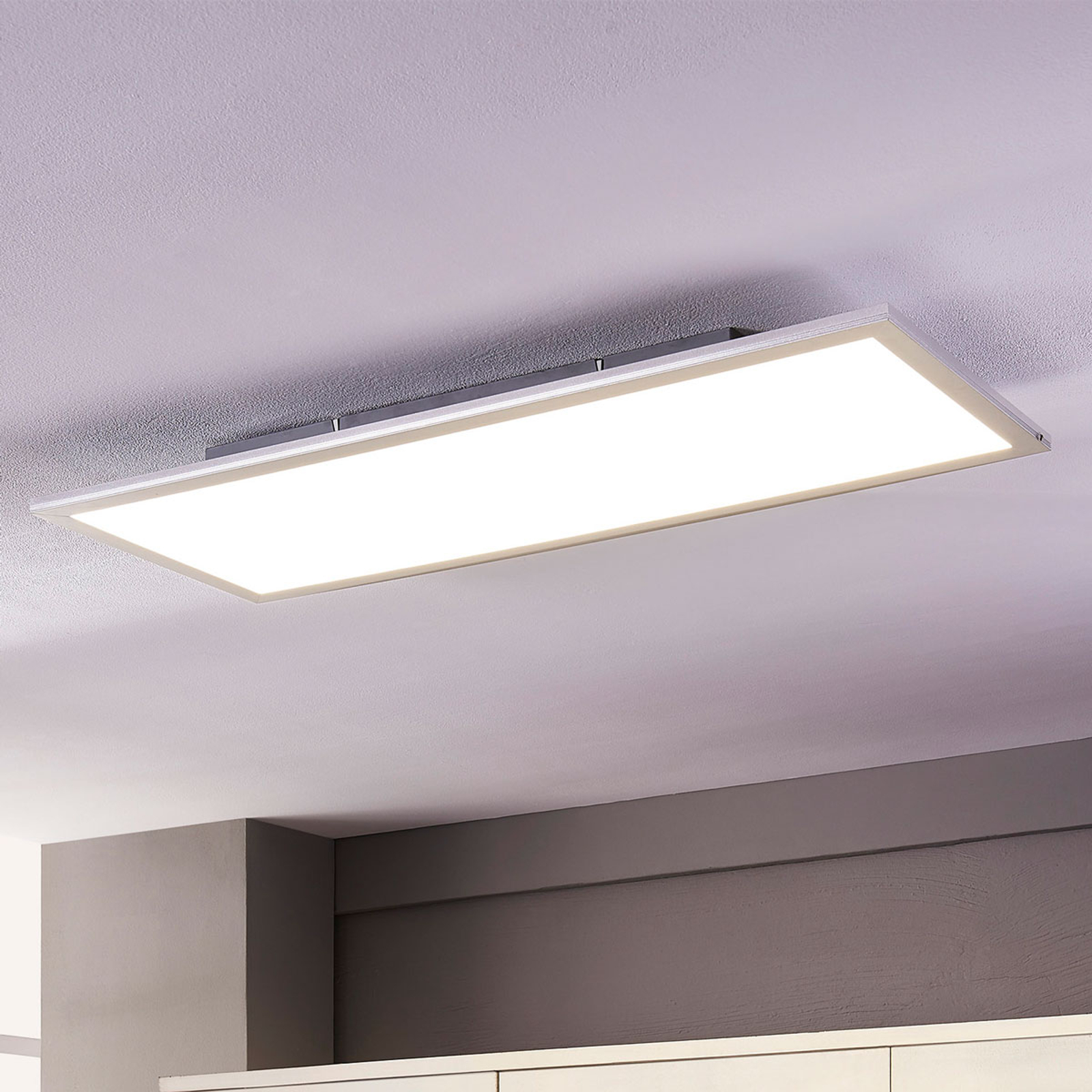 Lindby Livel LED paneel, 4.000K, 80 cm x 30 cm