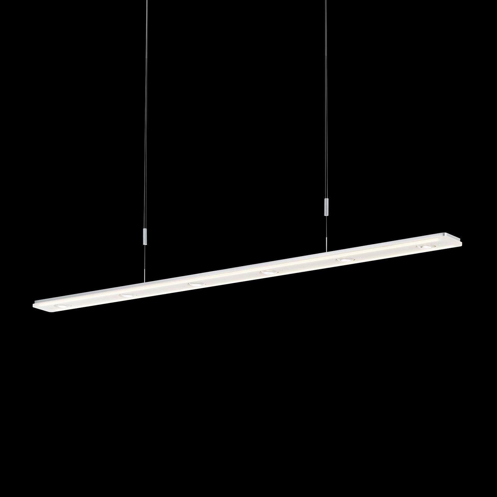 BANKAMP Caro lampa wisząca LED, aluminium