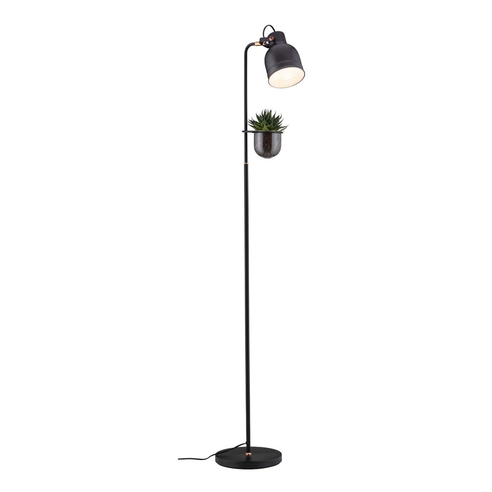 Paulmann lampadaire Elric avec pot de fleur