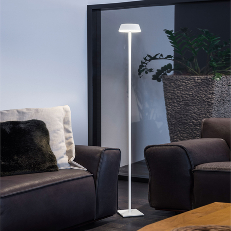 OLIGO Glance lampadaire LED avec tirette dimmable