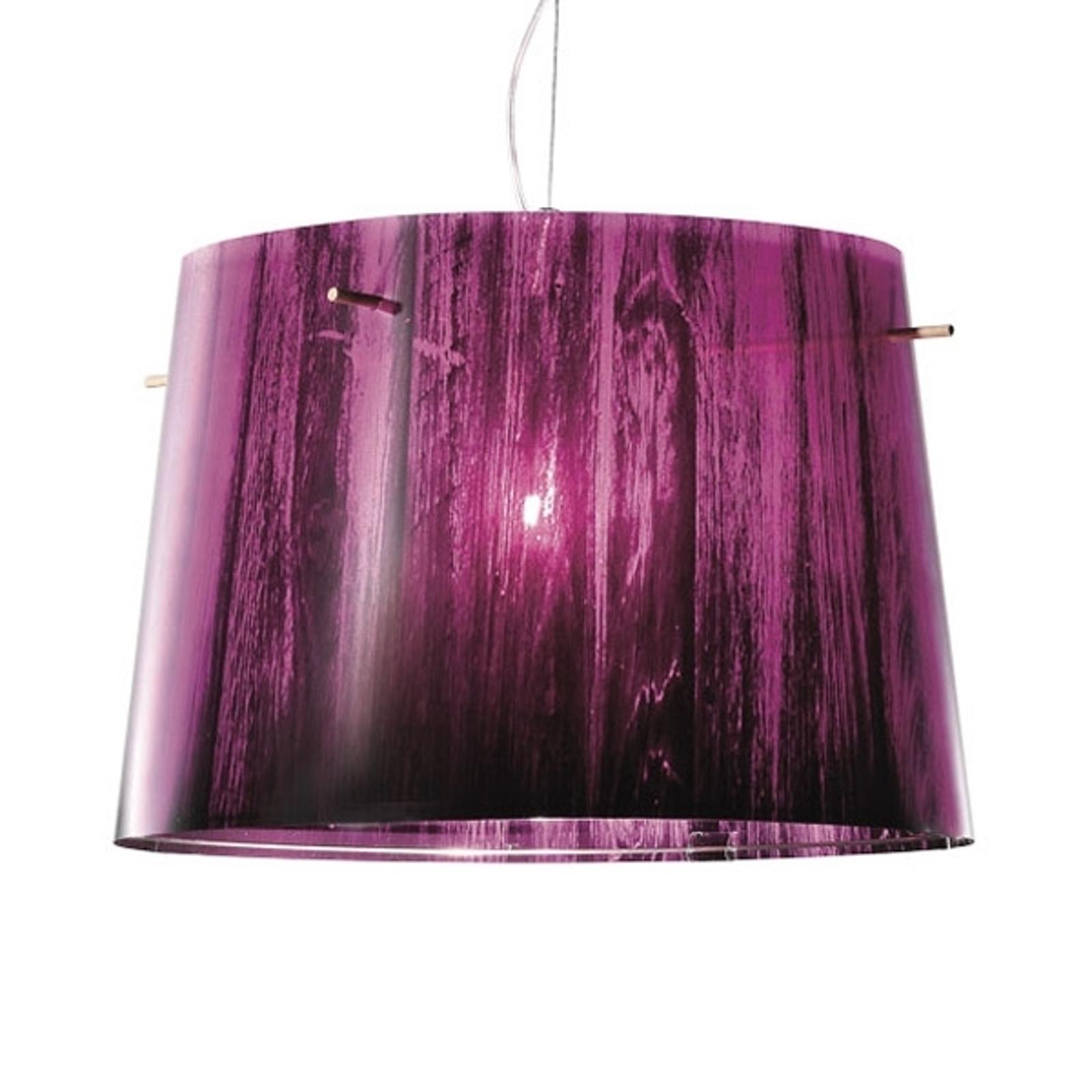 Joli dégradé coloré - Suspension Woody, violet