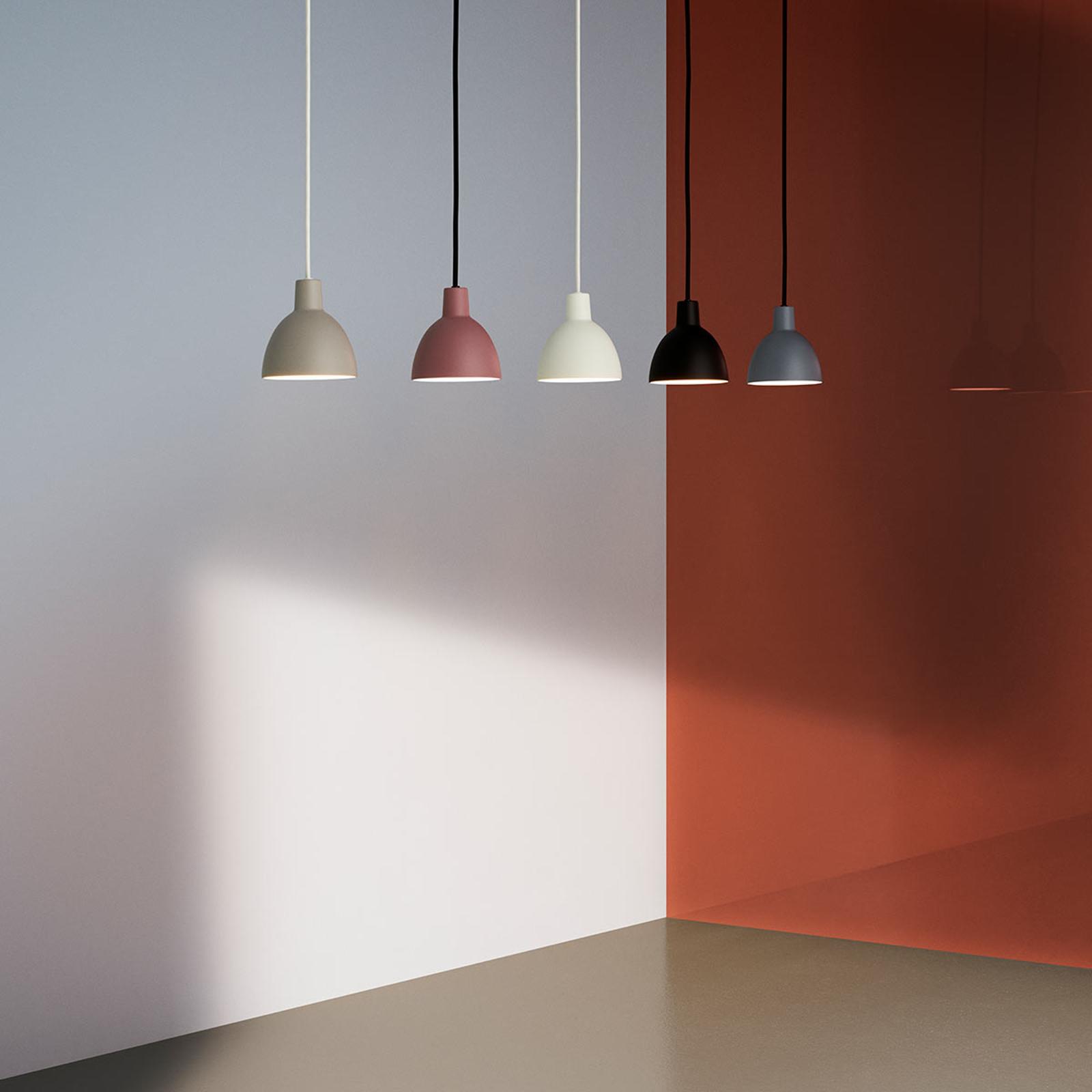Minimalistische hanglamp Toldbod 120, zwart