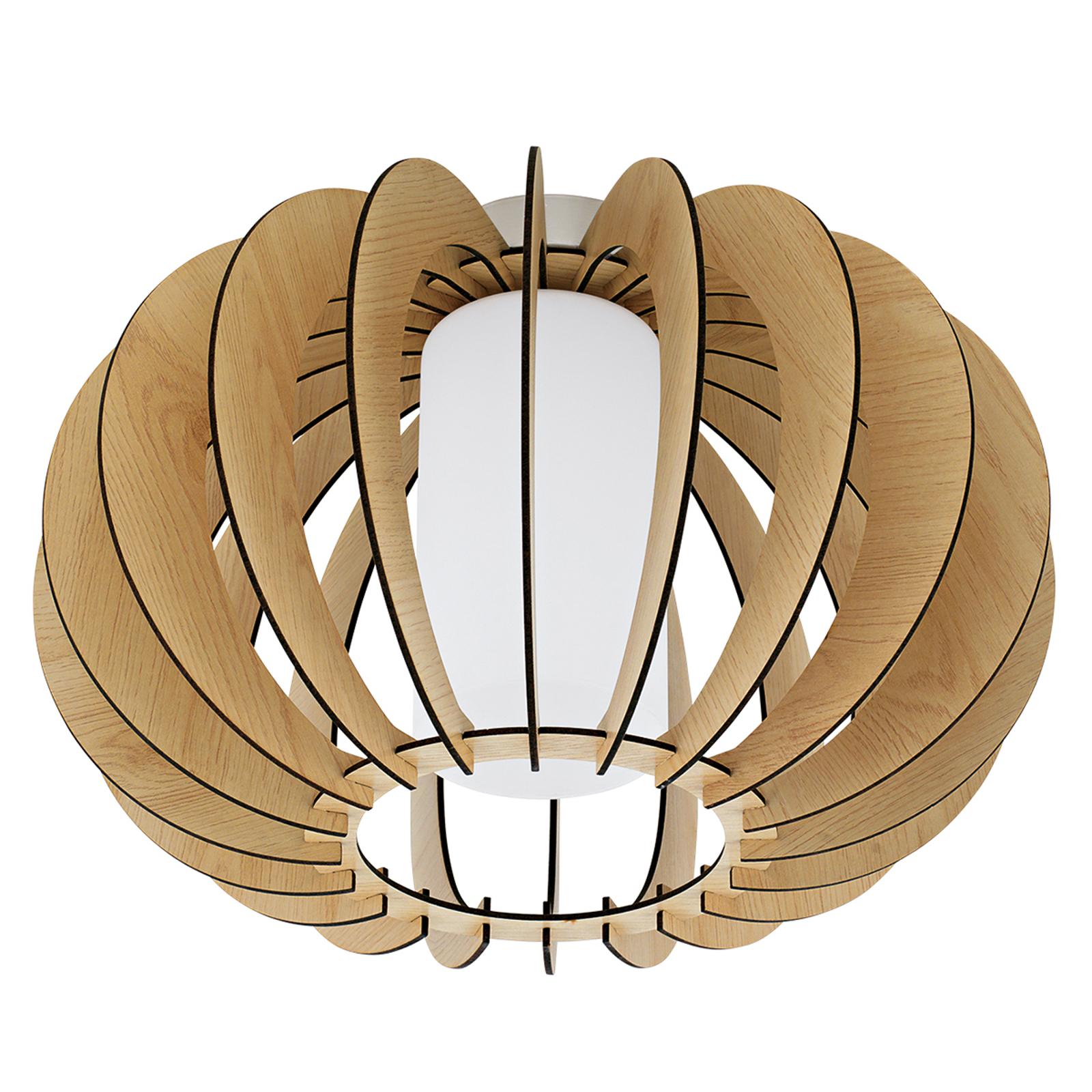 Naturalnie wyglądająca lampa sufitowa Stellato