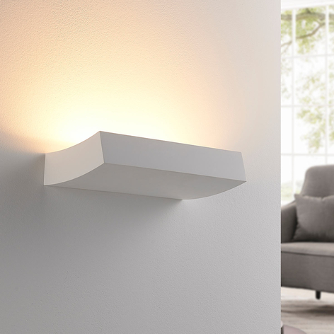 Nástěnná LED lampa Dana ze sádry