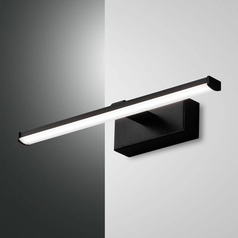Applique LED Nala per specchi, nera
