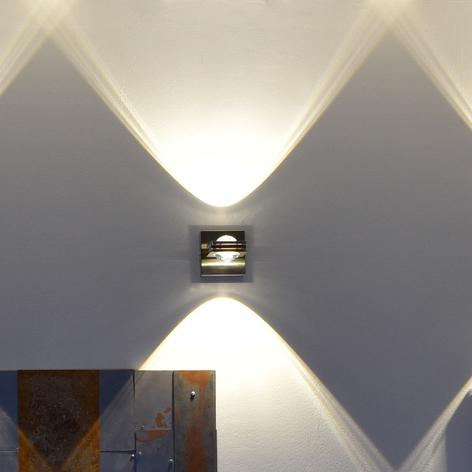 Stuurbare LED wandlamp Fisheye, afstandsbediening