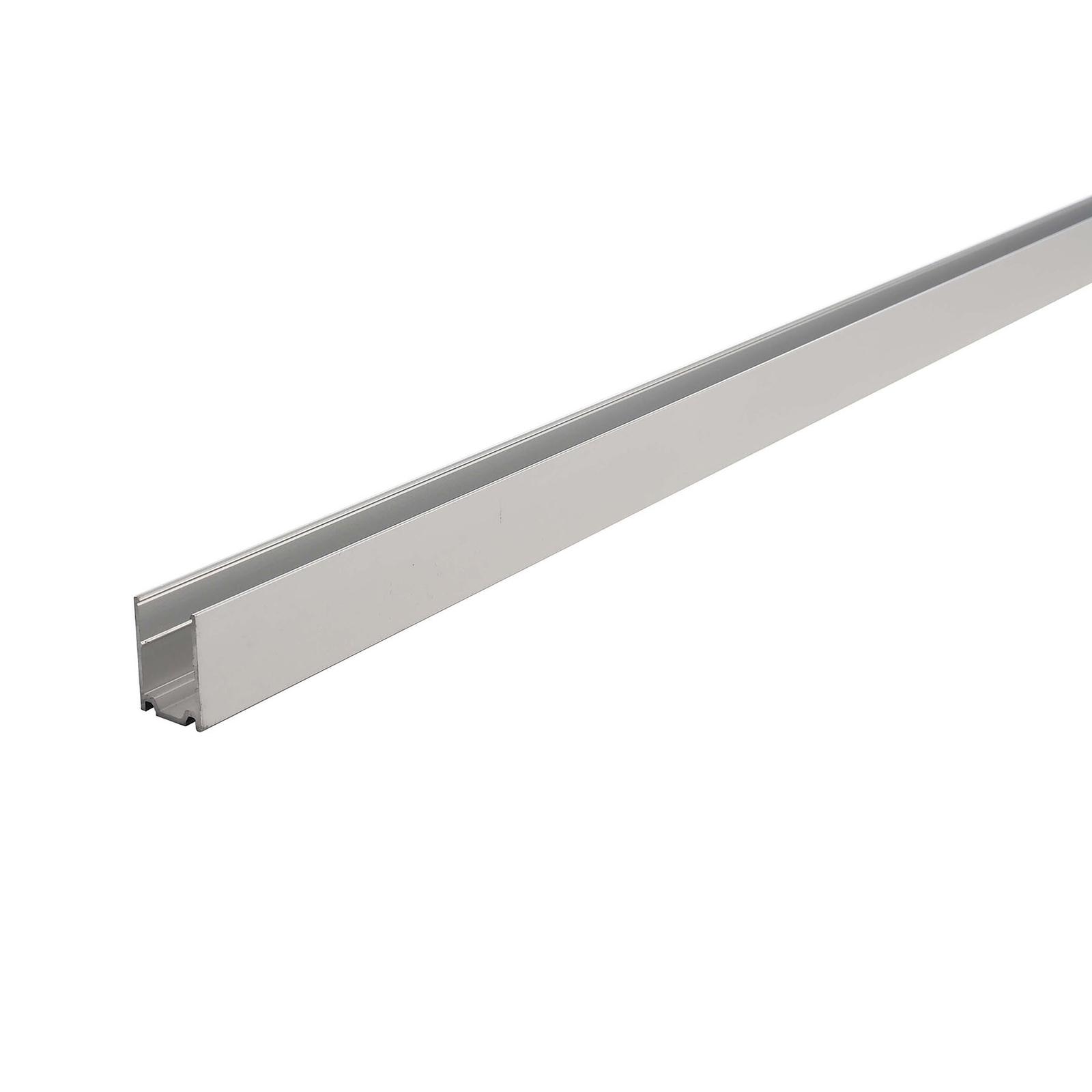 Aluprofil D Flex Line Side View for LED-stripe 1m