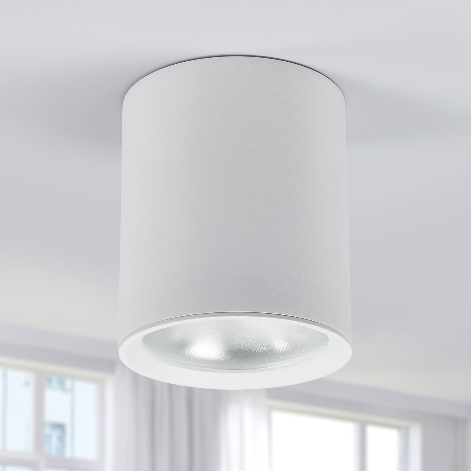 Plafonnier LED Benk, 13cm, 12,3W