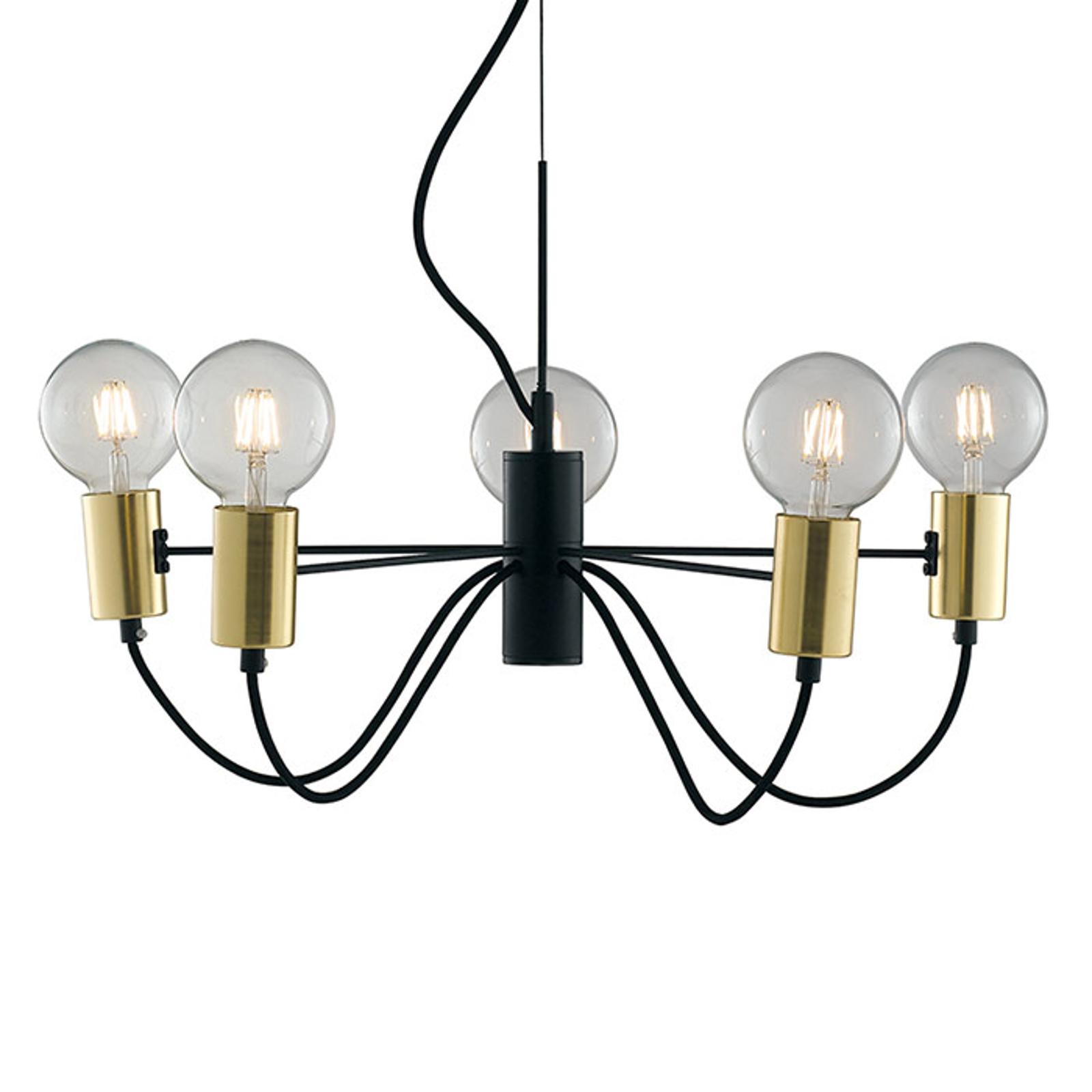 Lampa wisząca Axon 5-punktowa
