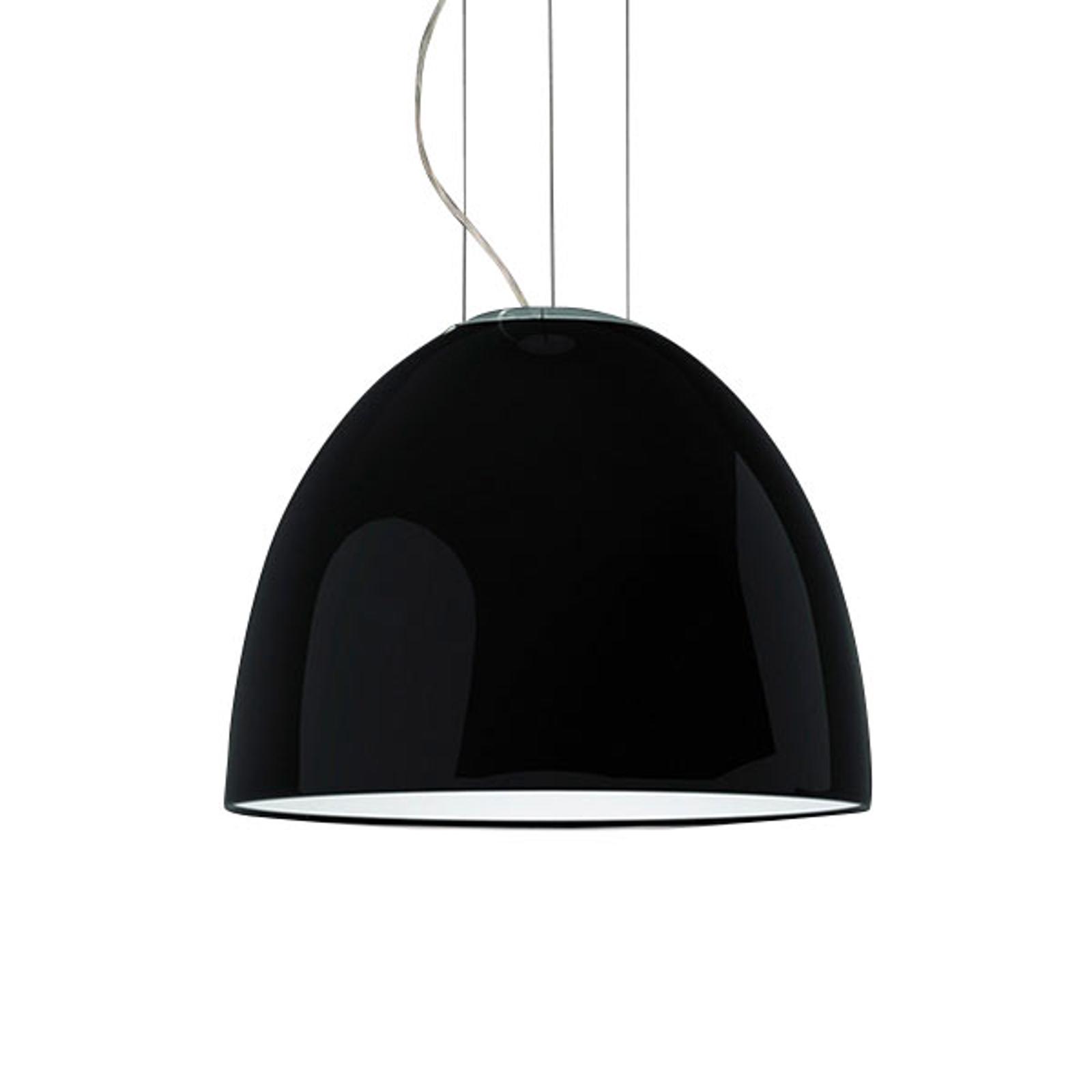 Artemide Nur Mini Gloss hengelampe svart
