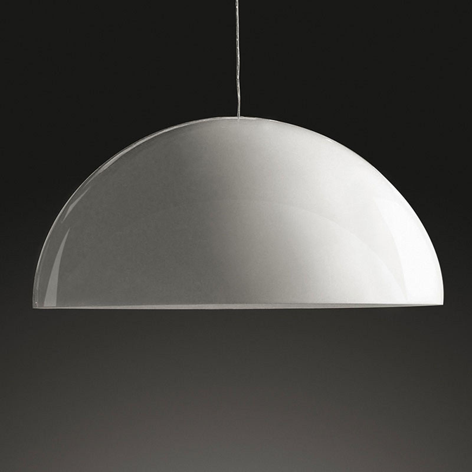 Oluce Sonora - wit gelakte hanglamp