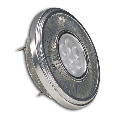 G53 19,5W QRB111 POWERLED LED reflectorlamp