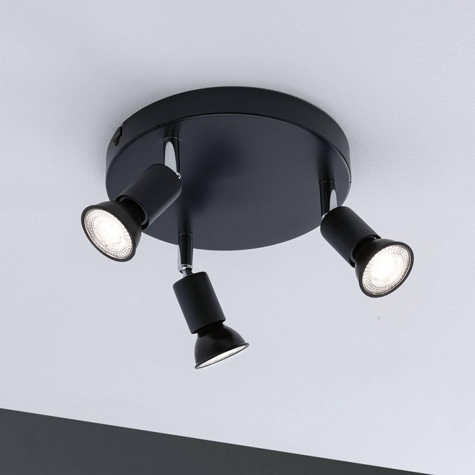 Paulmann Carolina spot soffitto, 3 luci IP44