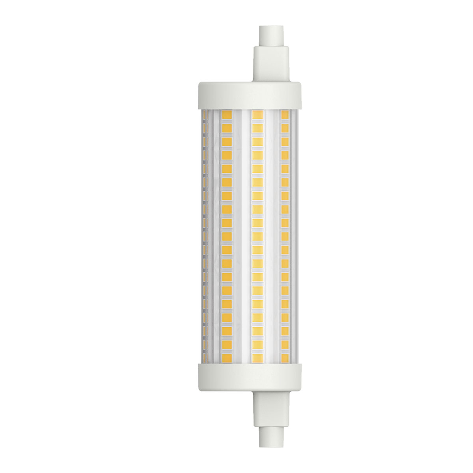 LED-Stablampe R7s 117,6 mm 15W warmweiß dimmbar