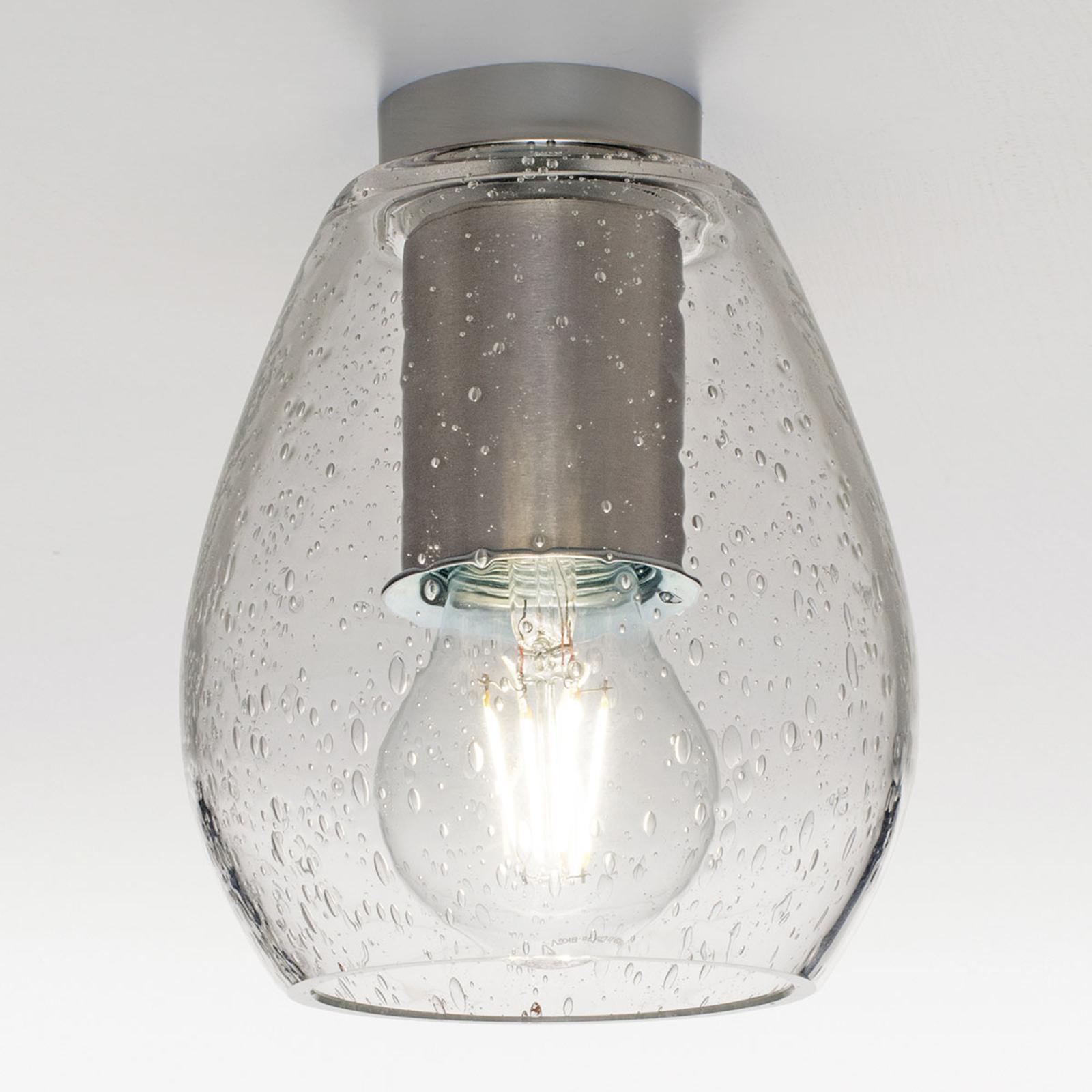 Acquista Casablanca Bagan Evolution plafoniera, vetro