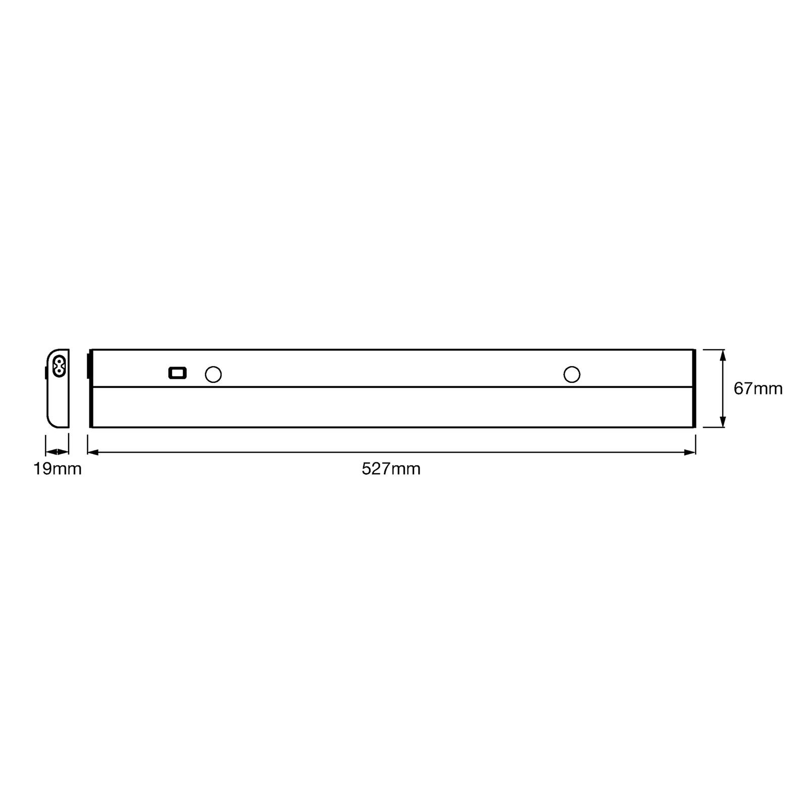 LEDVANCE Linear Flat LED per mobili 12W 12.12 K
