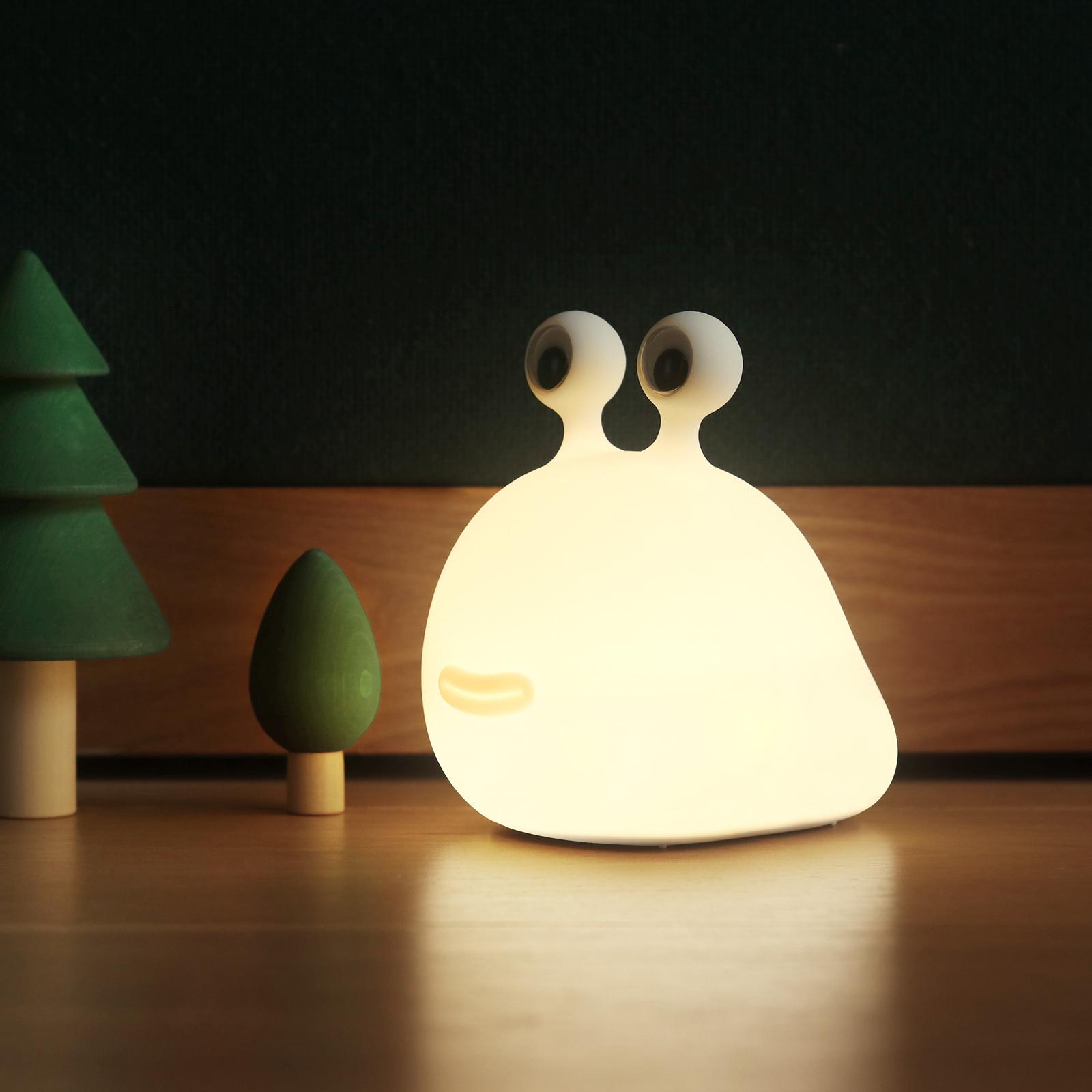 Lampka nocna LED Momo Moon z akumulatorem i USB