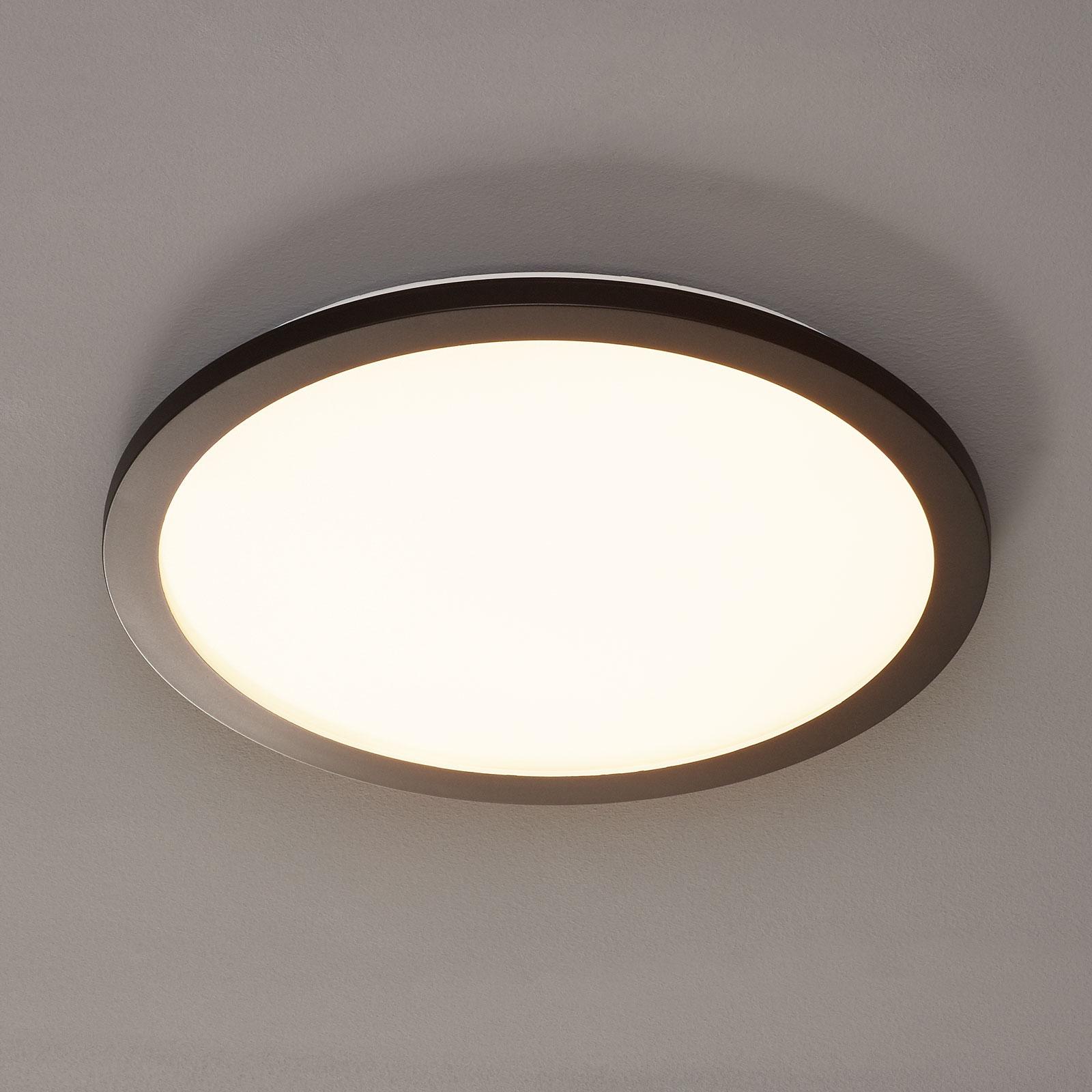 Lampa sufitowa LED Camillus, okrągła, Ø 40 cm