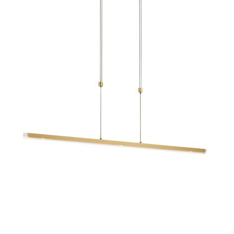 Lámpara colgante LED Ella, 90cm, altura ajustable