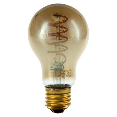 SEGULA LED lamp Curved spiraal E27 4W grijs