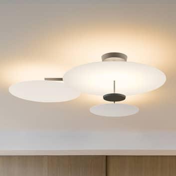 Vibia Flat LED-taklampa 4 lampor vit DALI dim