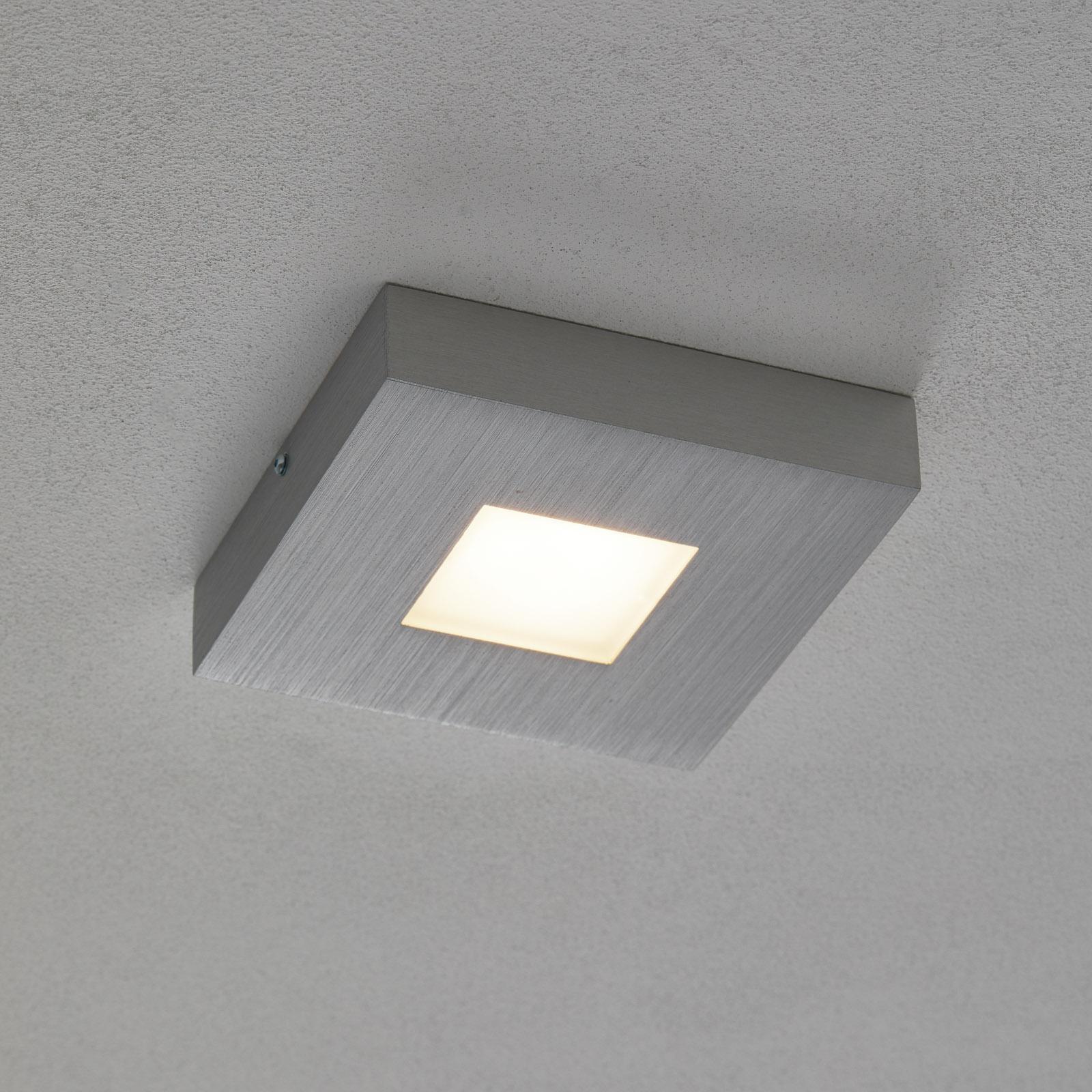 Cubus - vierkante LED-plafondlamp, dimbaar