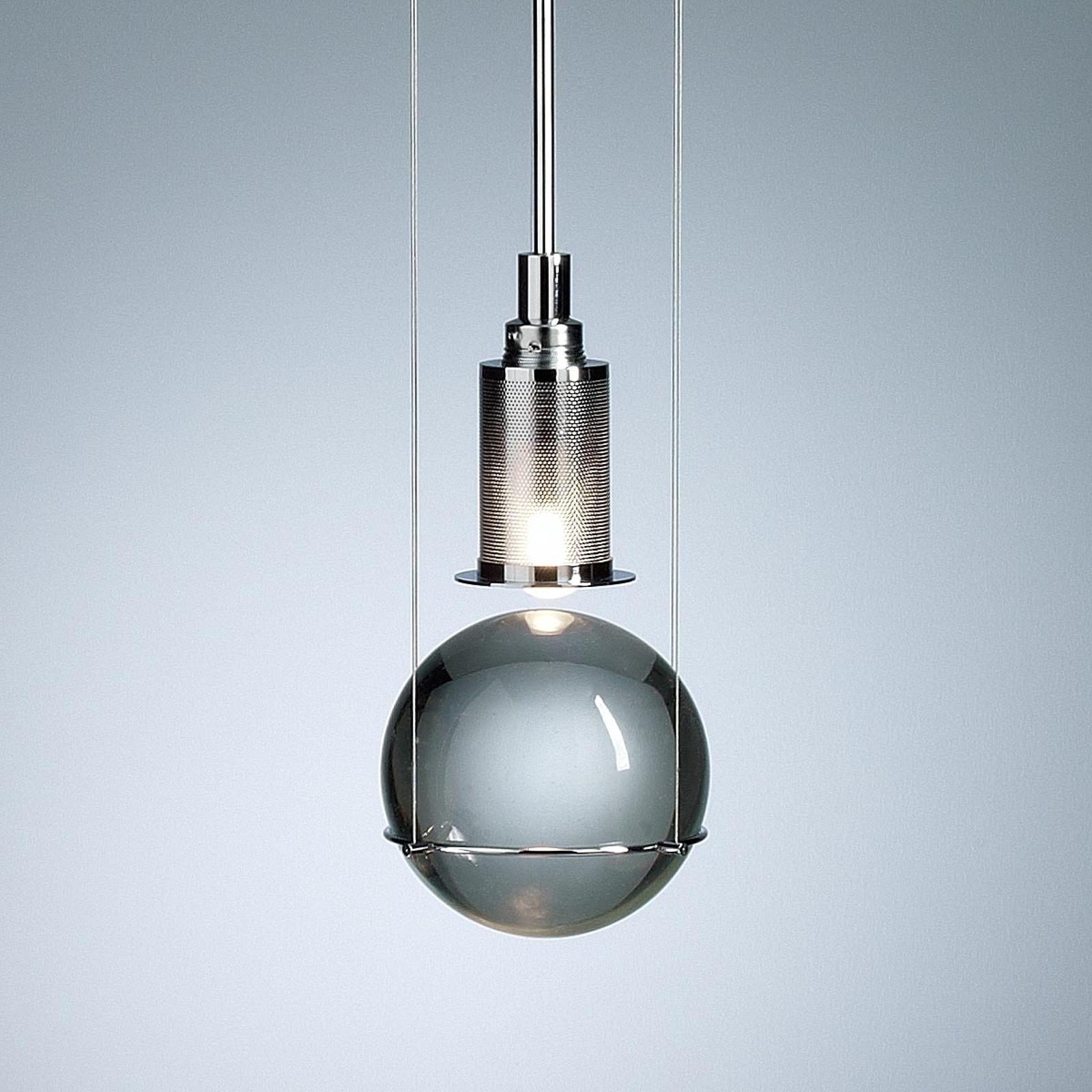 TECNOLUMEN Le Tre Streghe LED-Hängeleuchte chrom