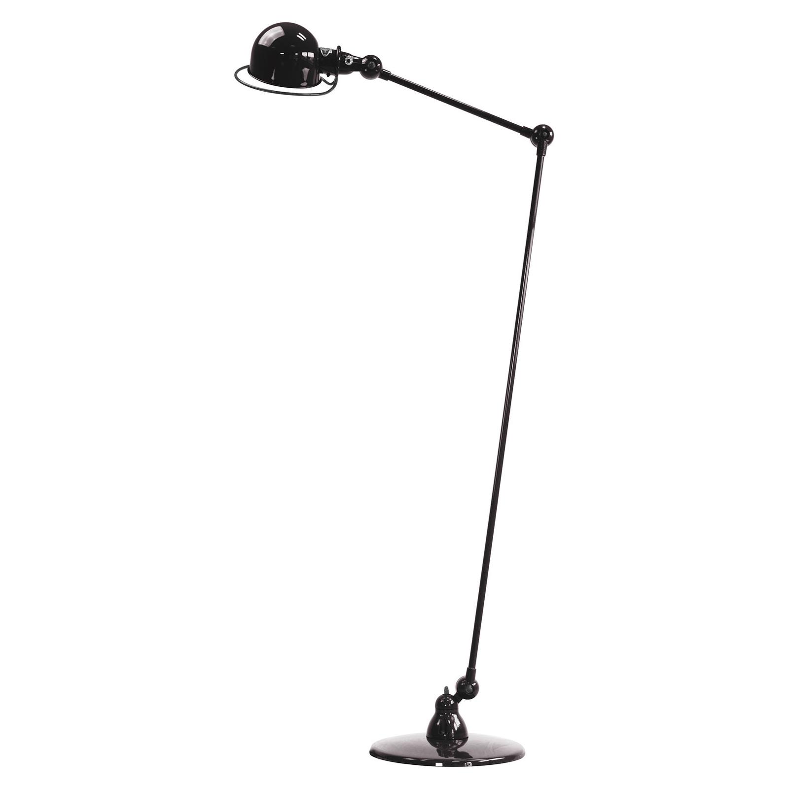 Jieldé Loft D1240vloerlamp scharnierarm, zwart