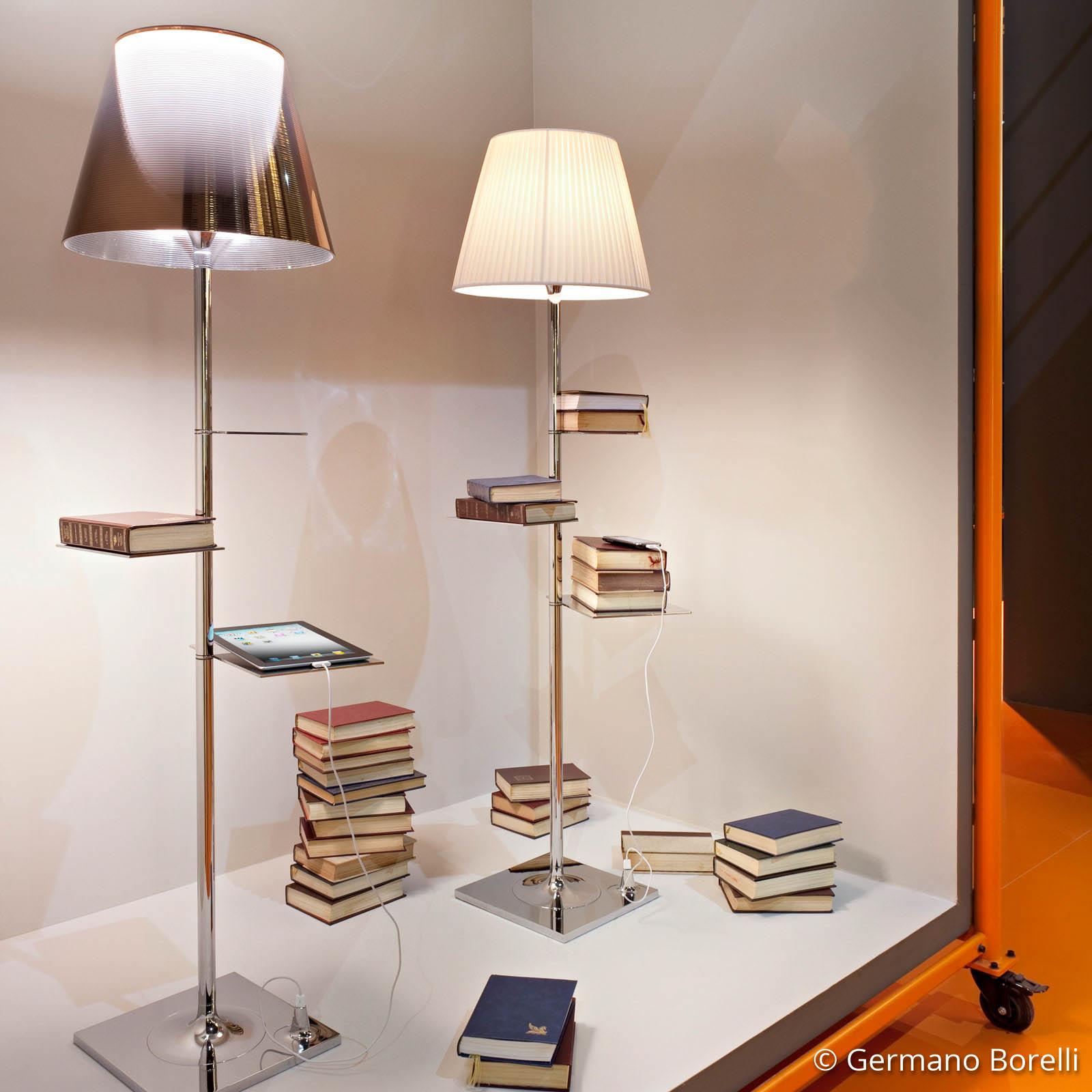 FLOS Bibliotheque Nationale Stehlampe bronze