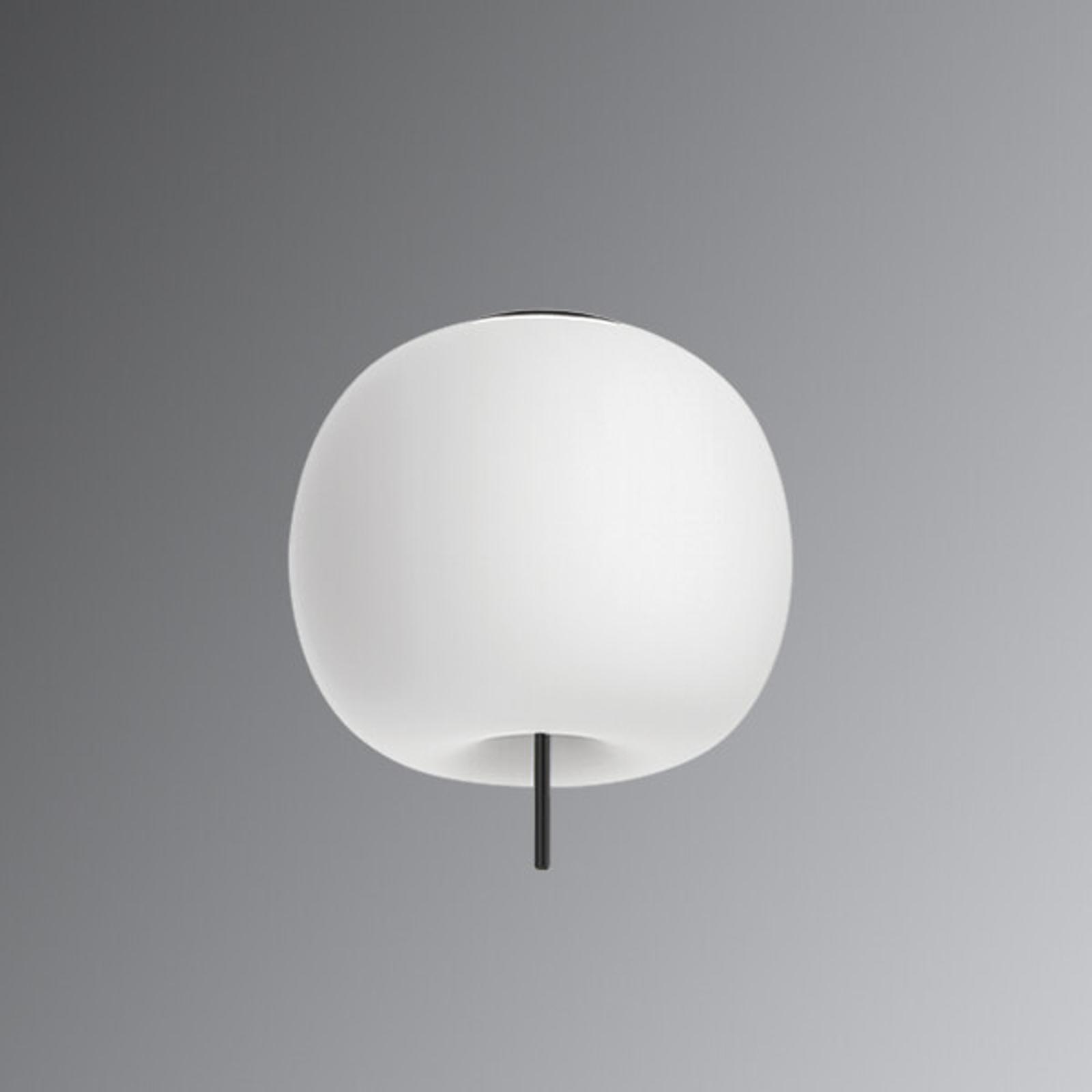 Designerska lampa wisząca LED Kushi, 33cm