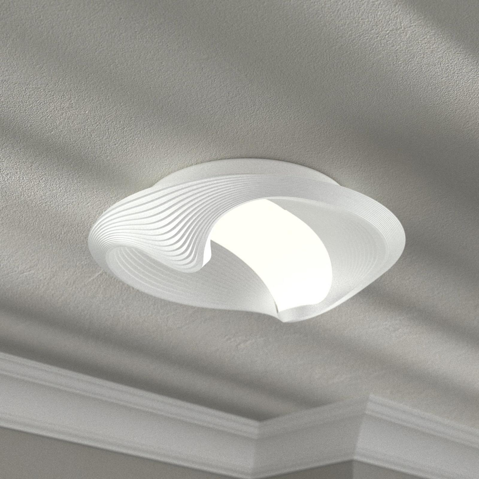 Lampa sufitowa LED Sestessa, przyciągająca wzrok