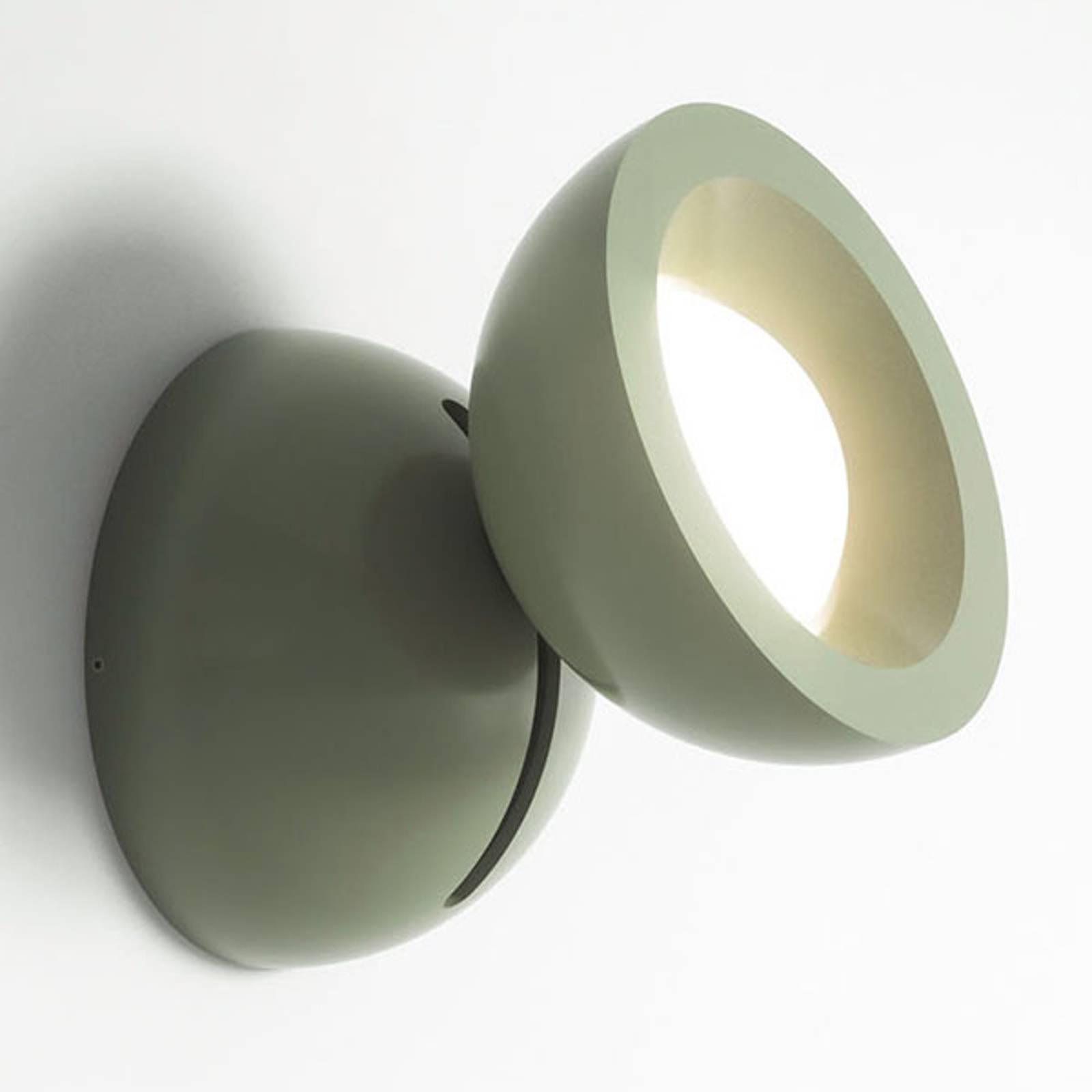 Axolight DoDot LED-Wandleuchte, grün 46°