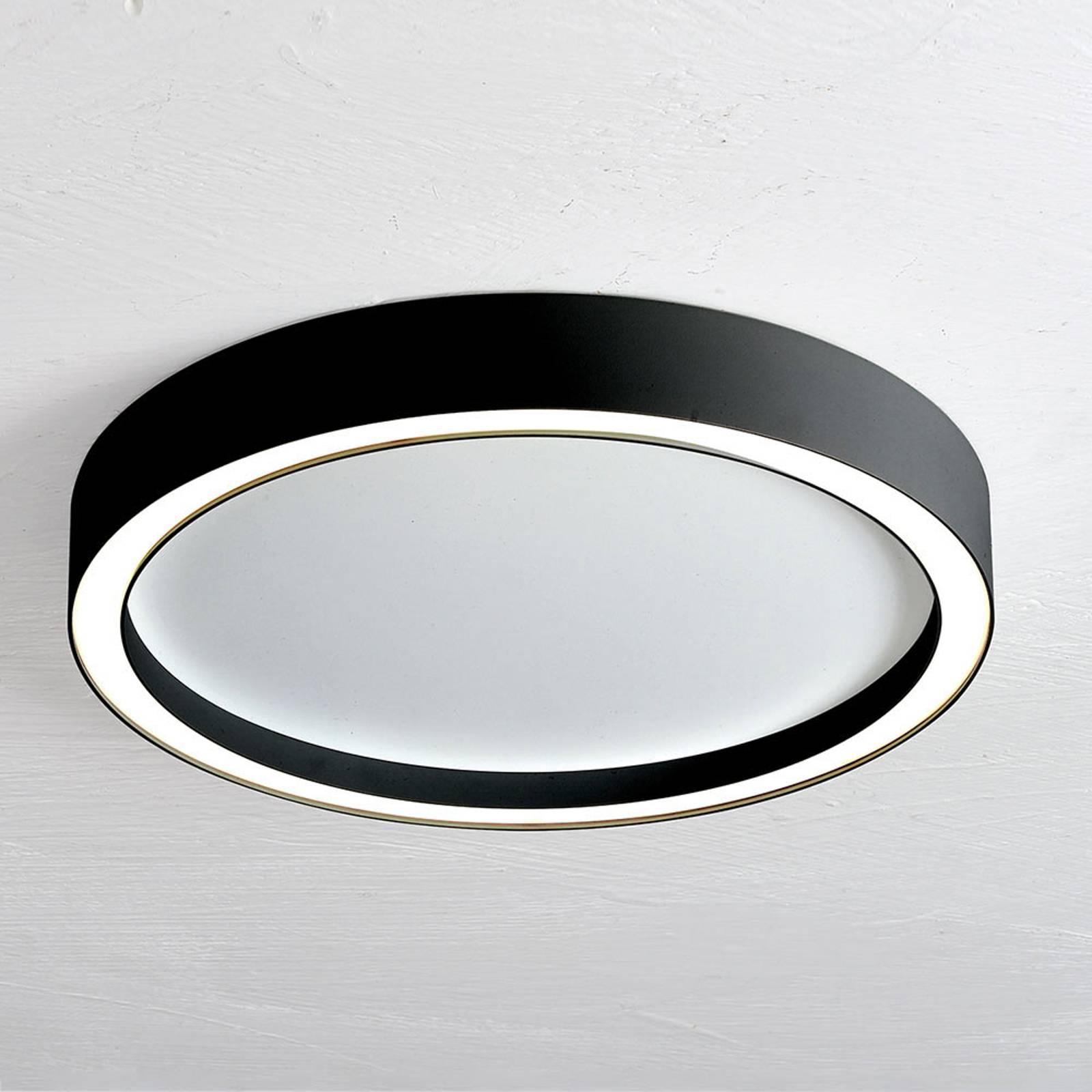 Bopp Aura LED plafondlamp Ø 40cm wit/zwart