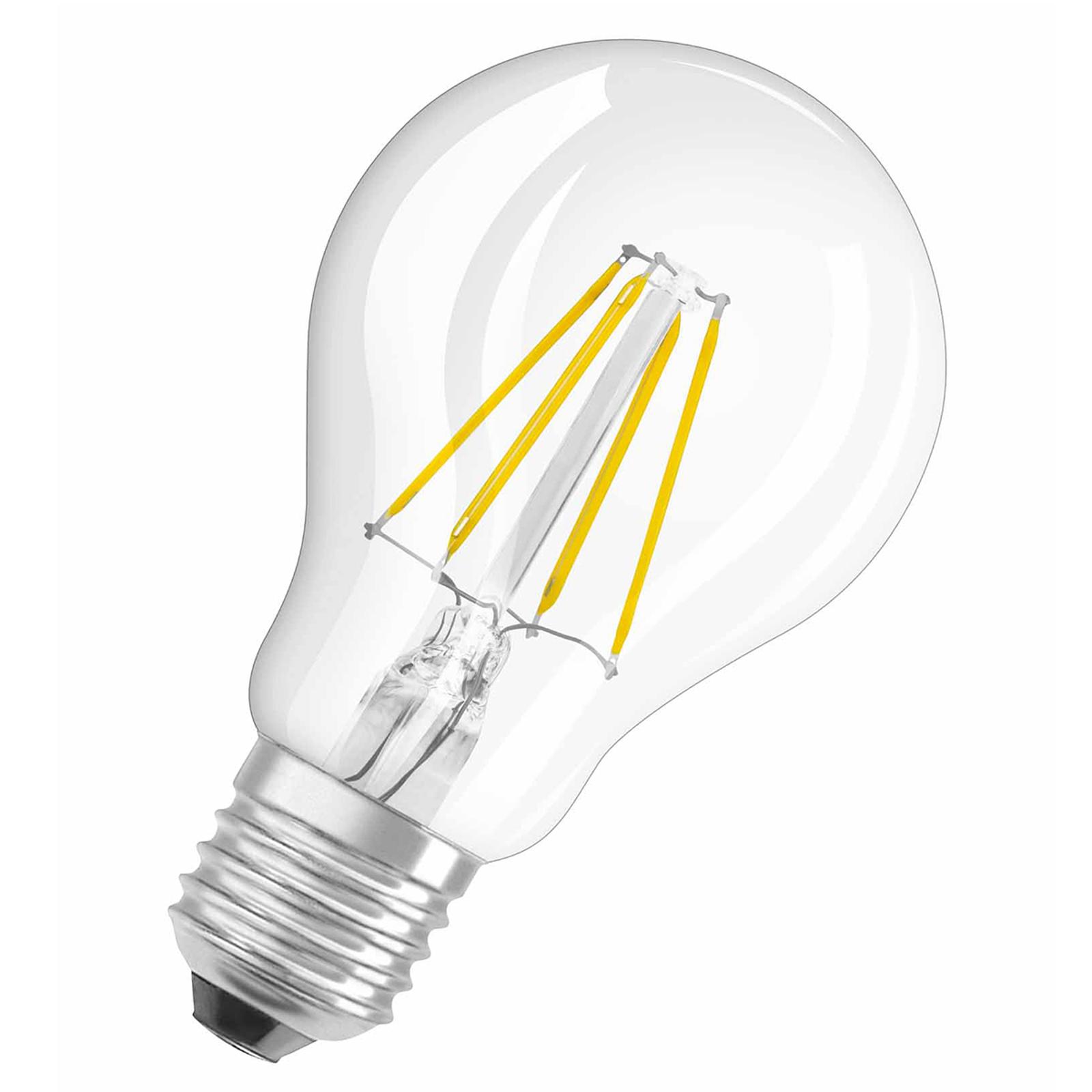 E27 4W 827 żarówka filament LED Retrofit przezr.
