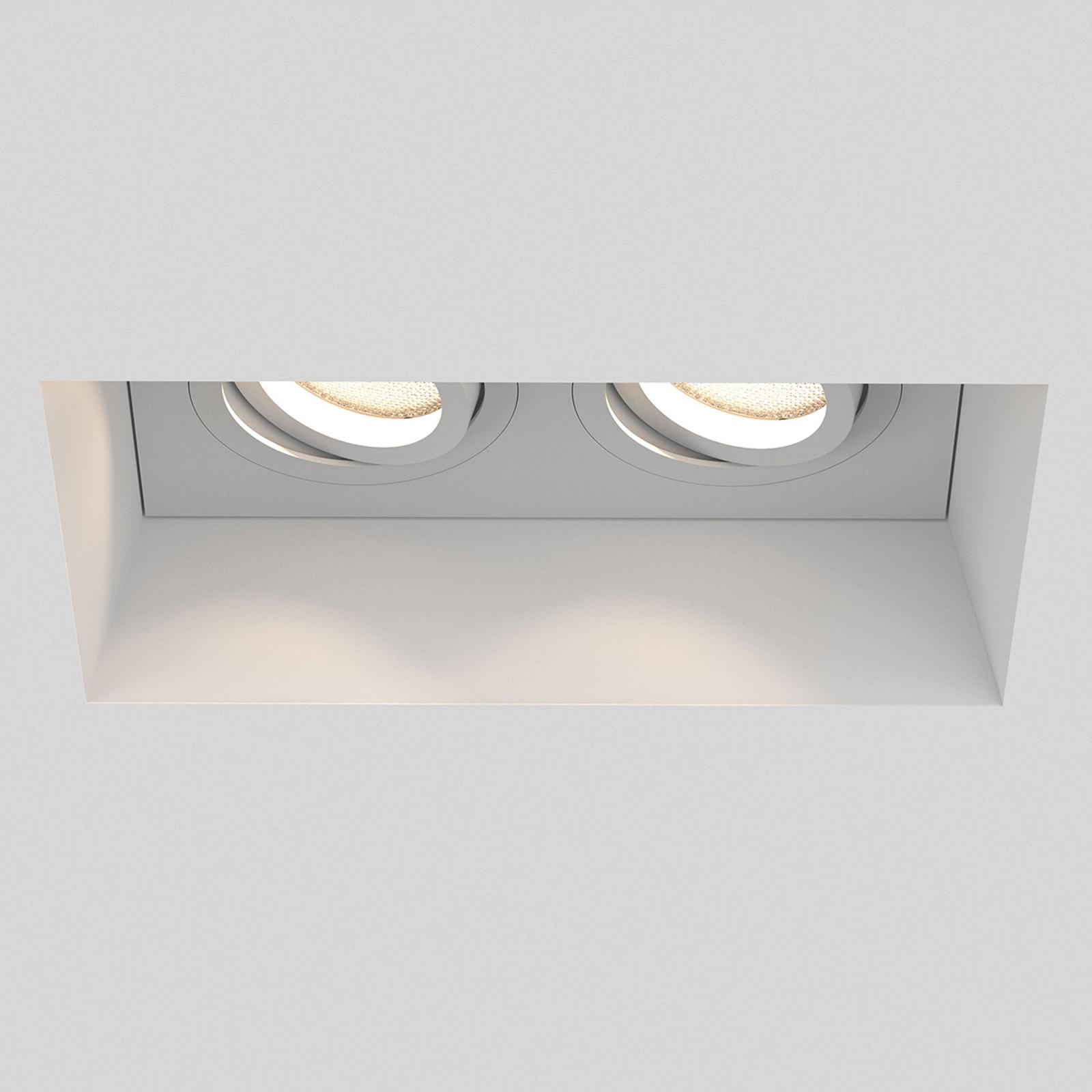 Astro Blanco Twin Adjustable lampada incasso