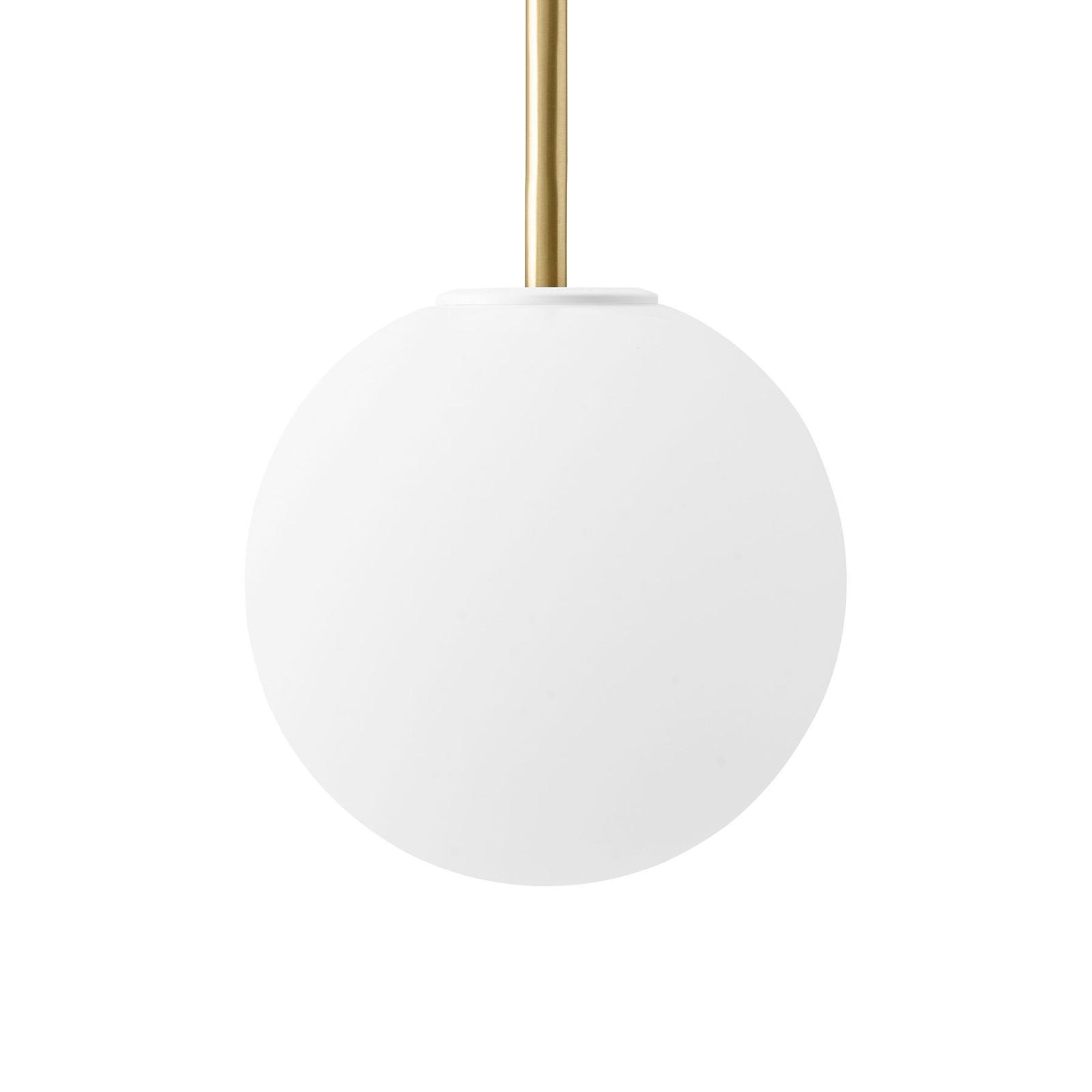 Menu TR Bulb DTW suspension LED 1 laiton/opale mat