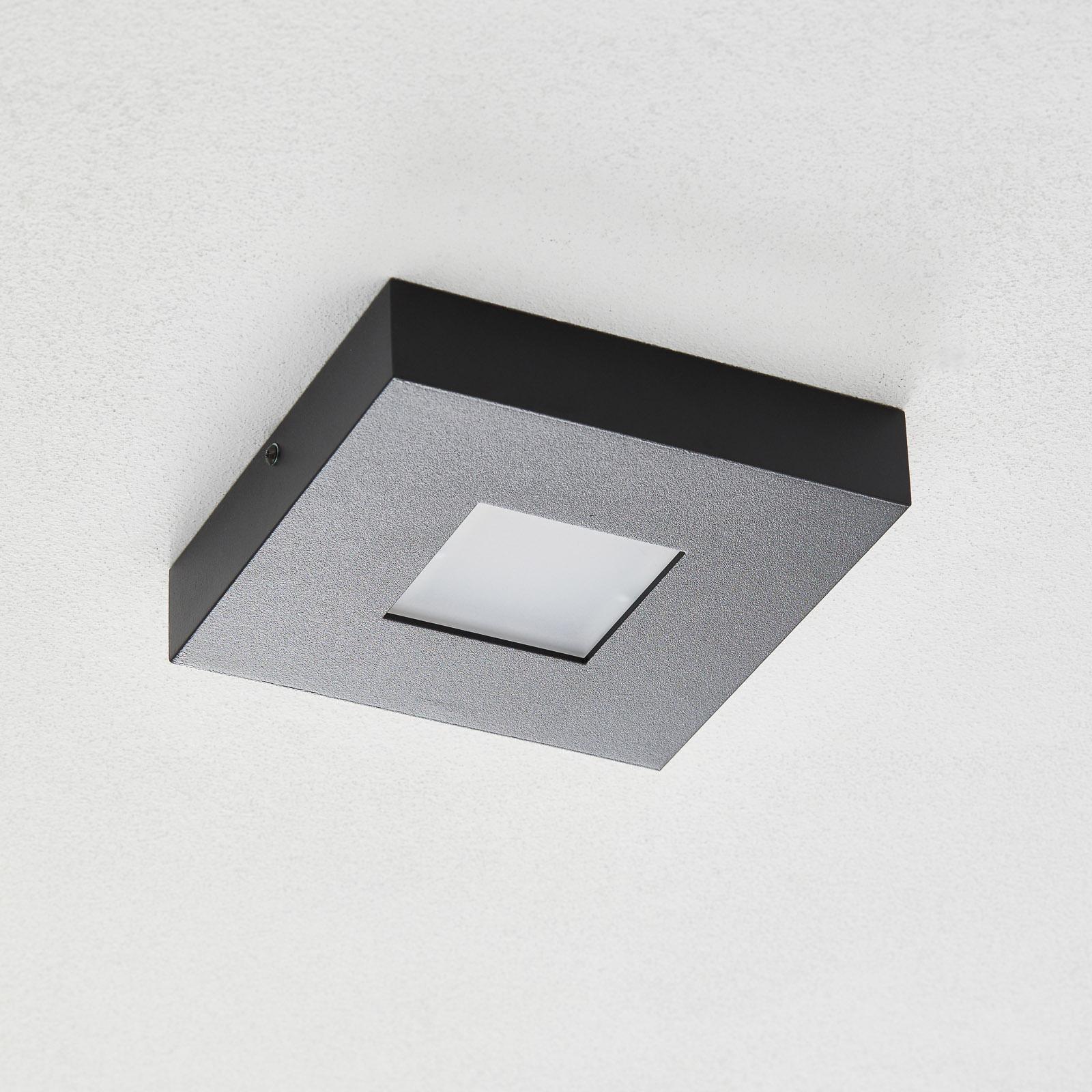 Bopp Cubus stropné LED svietidlo v čiernej