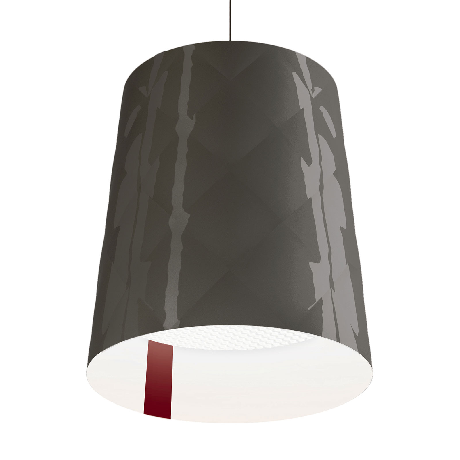 Kundalini New York hanglamp, Ø 45 cm, grijs