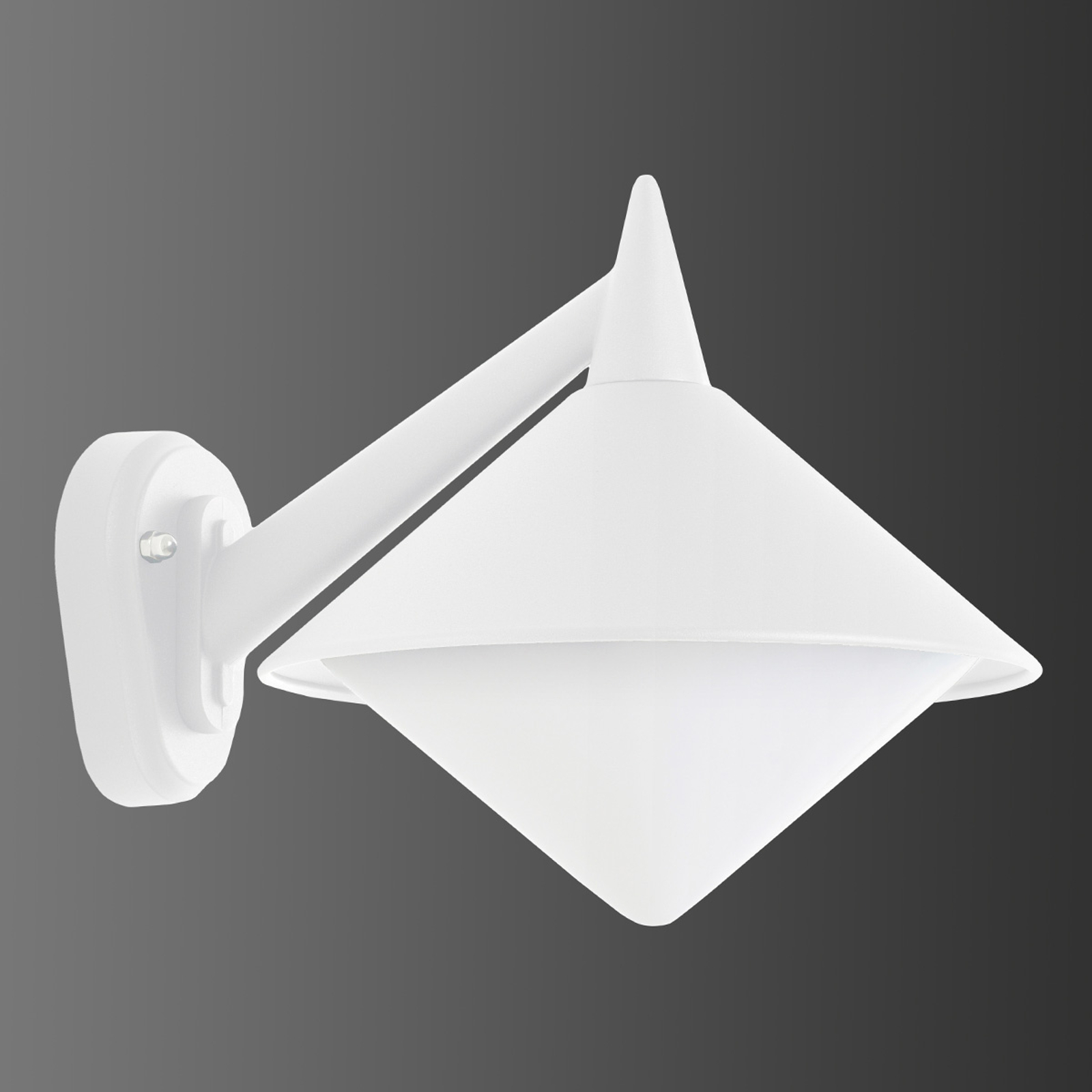 White outdoor wall lamp Liara - seawater resistant_6068075_1
