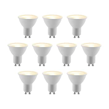 ELC LED-reflector GU10 5W 10 stuks/pak 2700K 120°