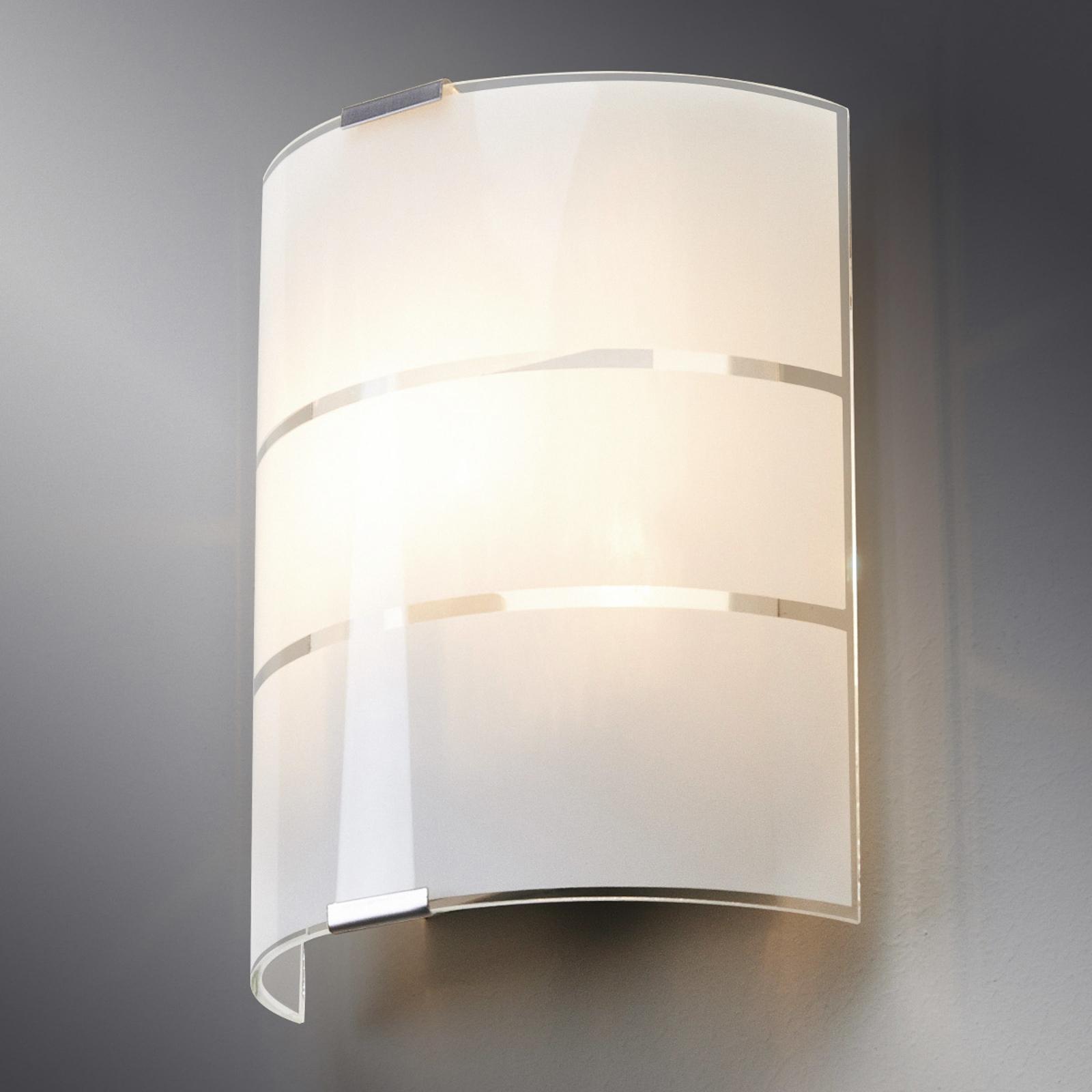 Glas-wandlamp Vincenzo