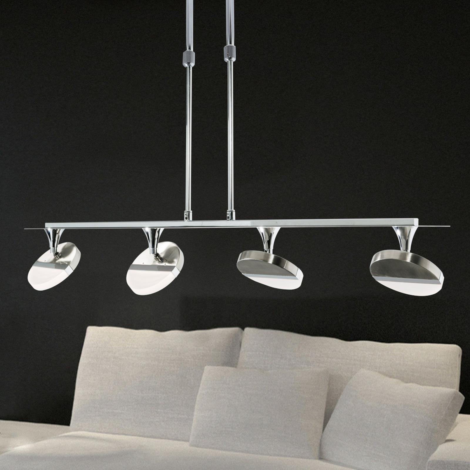 In hoogte verstelbare LED-pendellamp Jenaro