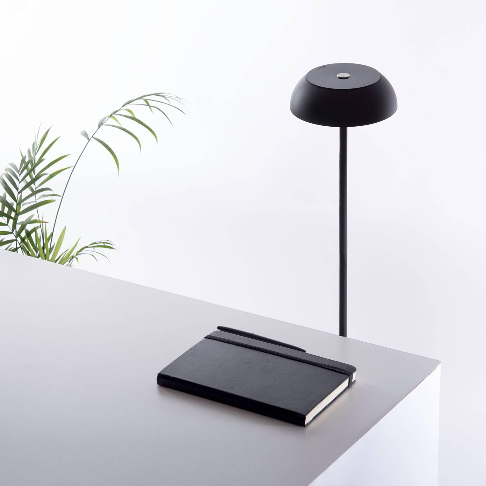 Axolight Float LED design vloerlamp, zwart