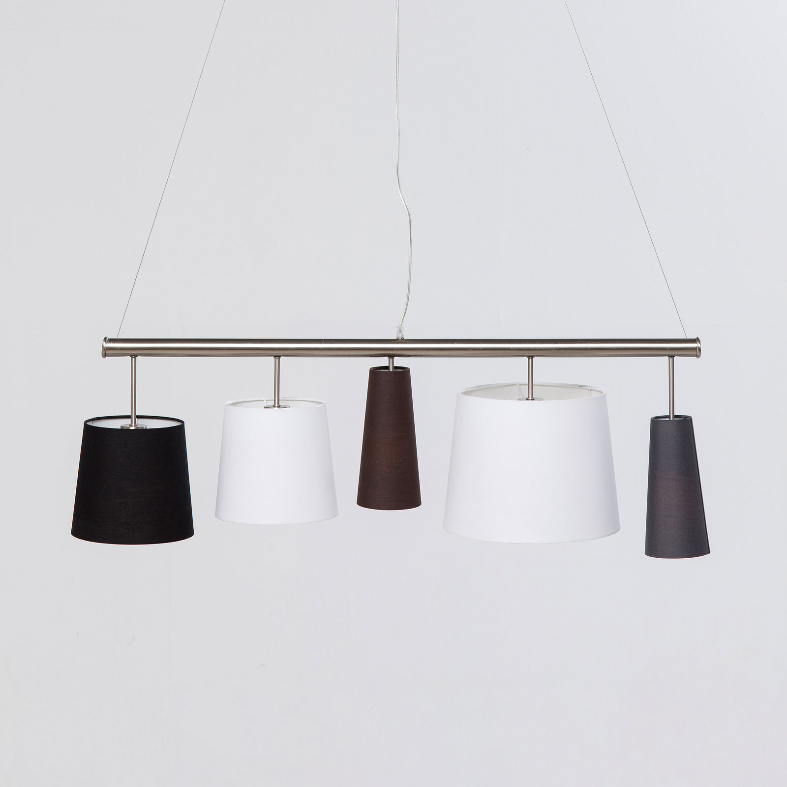 KARE Parecchi Silber suspension, noire/blanche