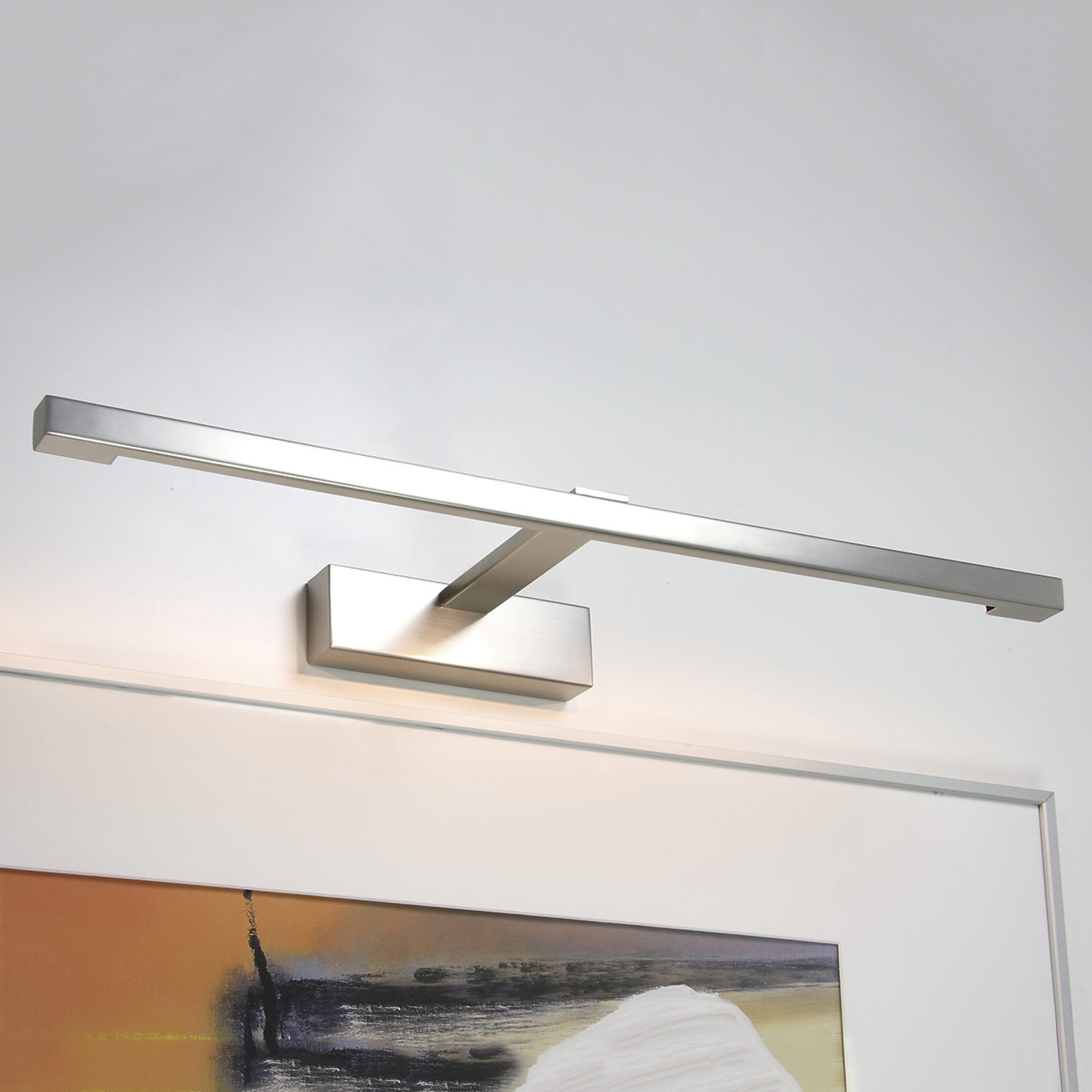 Moderne TEETOO 550 bildebelysning i nikkel med 12V